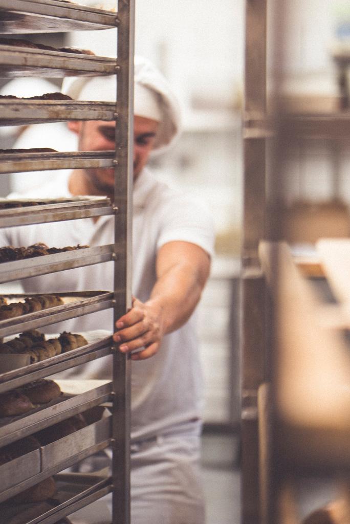 Fotoreportage beim Bäcker, Köln, Fotoshooting
