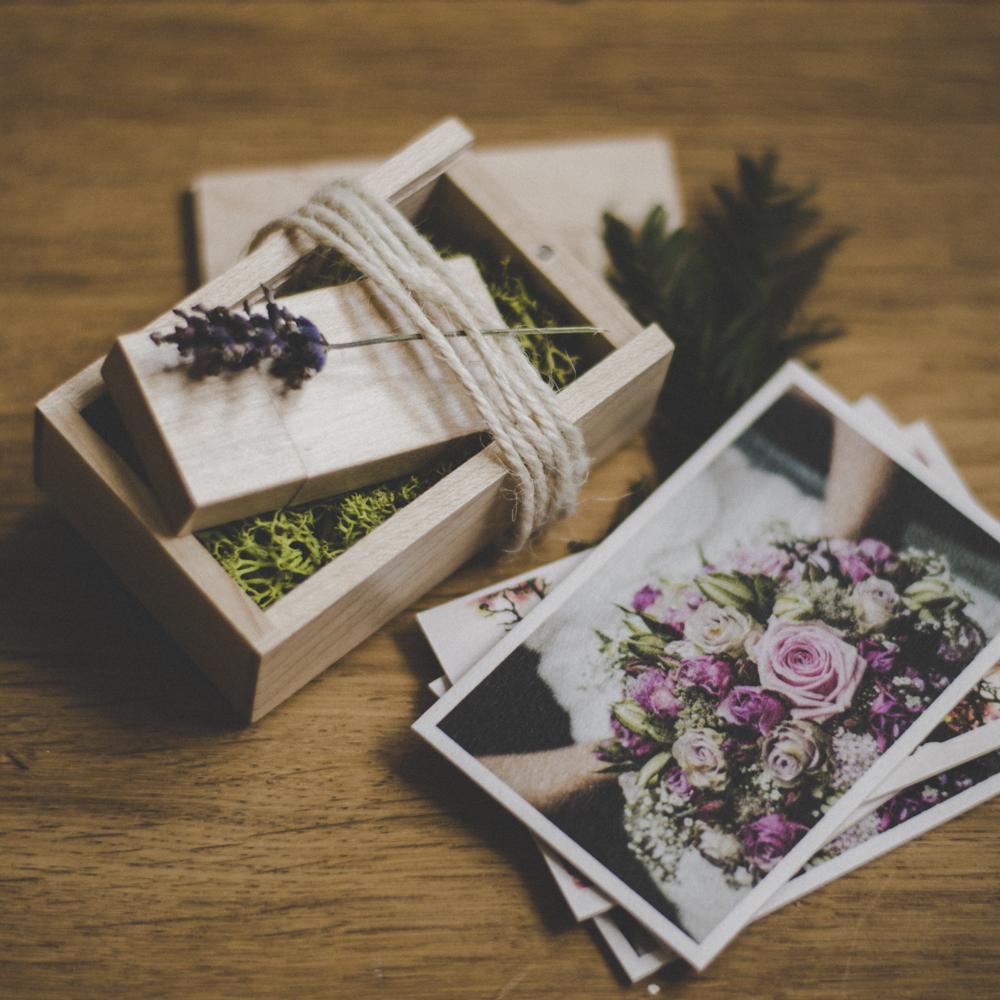 USB-Stick, Hochzeitsfotos, Hochzeitsreportage