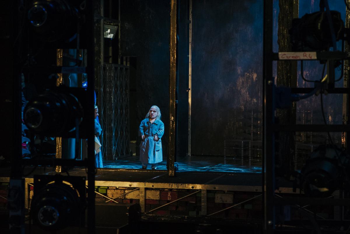 Fotoreportage, Oper, Portrait, Schauspieler
